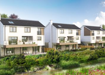 Thumbnail 4 bed detached house for sale in Riverbank Gardens, Field Road, Busby, Glasgow