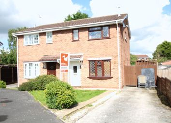 Thumbnail 3 bed semi-detached house to rent in Glamis Close, Stretton, Burton-On-Trent