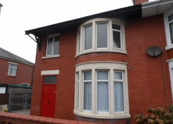 Thumbnail 3 bed semi-detached house to rent in Campbell Avenue, Blackpool