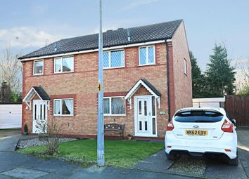 Thumbnail 2 bedroom semi-detached house for sale in Foredyke Avenue, Hull