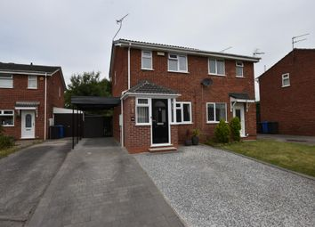 Thumbnail Semi-detached house for sale in Curborough Drive, Derby, Derbyshire