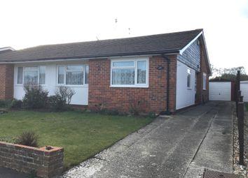 Thumbnail 3 bed semi-detached bungalow for sale in Highcroft Crescent, Bognor Regis