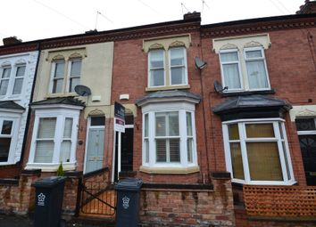 Thumbnail 2 bed terraced house to rent in Shaftesbury Road, Leicester