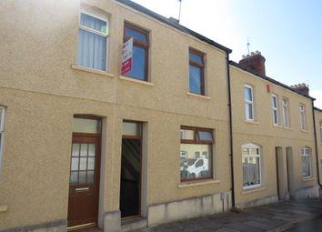 Thumbnail 2 bed terraced house for sale in Fryatt Street, Barry