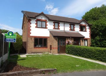 Thumbnail 3 bed semi-detached house for sale in Holsands Close, Fulwood, Preston