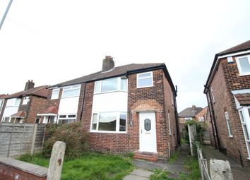 Thumbnail 3 bed semi-detached house to rent in Riverton Road, Manchester