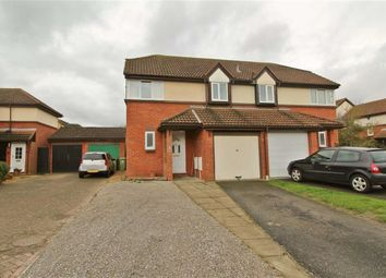 Thumbnail 3 bedroom semi-detached house to rent in Whitsun Pasture, Willen Park, Milton Keynes