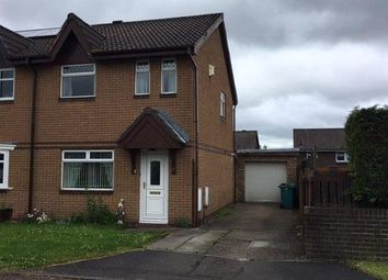 Thumbnail 3 bed semi-detached house to rent in Elizabeth Quadrant, Holytown, Motherwell