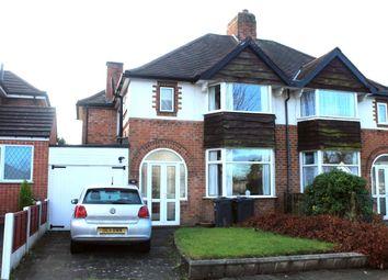 Thumbnail Semi-detached house for sale in Arden Road, Acocks Green, Birmingham