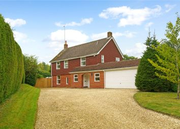 Thumbnail 4 bed detached house for sale in Rotten Row, Bradfield, Reading, Berkshire