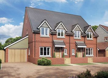 Thumbnail 3 bed semi-detached house for sale in The Amaryllis, Hartley Meadows, Whitchurch, Hampshire