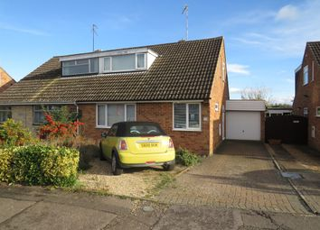 Thumbnail 3 bed semi-detached bungalow for sale in Pheasant Way, Kingsthorpe, Northampton