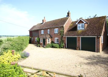 Thumbnail 5 bed detached house for sale in Hall Lane, Upper Farringdon, Alton, Hampshire
