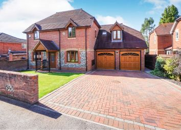 Thumbnail 5 bed detached house for sale in Burnetts Lane, Horton Heath Eastleigh