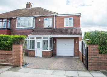 Thumbnail 4 bed semi-detached house for sale in Ilfracombe Avenue, Newcastle Upon Tyne