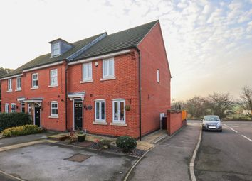 Thumbnail 3 bed town house for sale in Church View Drive, Old Tupton, Chesterfield