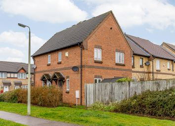 Thumbnail 2 bed end terrace house for sale in Clover Avenue, Bedford