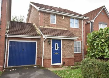 Thumbnail 3 bedroom link-detached house for sale in Harvest Close, Bradley Stoke, Bristol