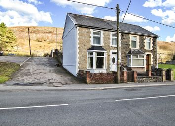 Thumbnail 2 bed semi-detached house for sale in Bournville Road, Blaina, Abertillery