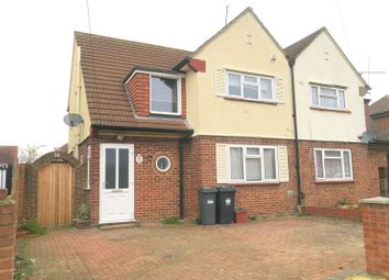 Thumbnail 3 bed semi-detached house for sale in Southville Road, Feltham