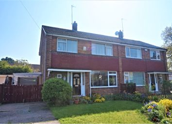 Thumbnail 3 bed semi-detached house for sale in Beechdale, Cottingham