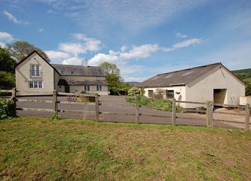 Thumbnail 4 bed farmhouse for sale in Timberscombe, Minehead