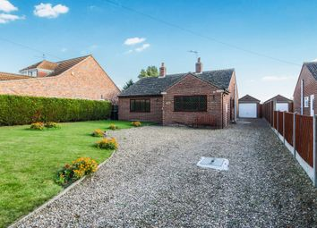 Thumbnail 3 bed detached bungalow for sale in Church Lane, Kirkby-La-Thorpe, Sleaford