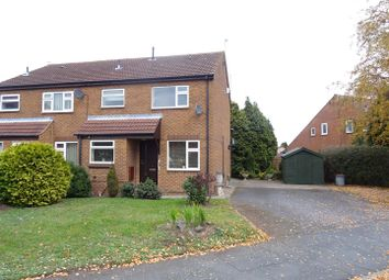 Thumbnail 1 bed maisonette for sale in Quantock Rise, Shepshed, Leicestershire