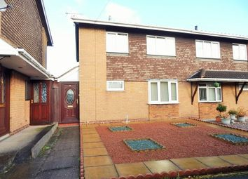 Thumbnail 3 bed semi-detached house for sale in Darwin Close, Heath Hayes