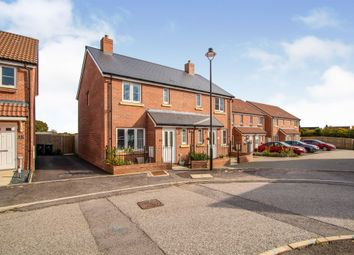 Thumbnail Semi-detached house for sale in Snowdrop Wynde, Shaftesbury