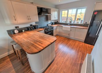 Thumbnail 4 bed detached house for sale in Honeymead Road, Wimblington, March