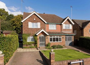 Thumbnail 4 bed detached house to rent in Chaucer Avenue, Weybridge