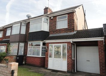 Thumbnail 3 bed semi-detached house to rent in Wyvern Avenue, Leicester