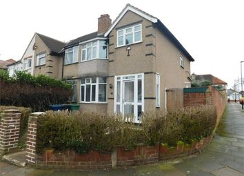 Thumbnail 3 bed end terrace house for sale in Lyndhurst Road, Greenford, Middlesex