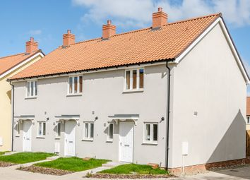 Thumbnail 2 bed end terrace house for sale in Bury Road, Chedburgh, Bury St. Edmunds