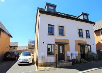 Thumbnail 3 bed terraced house for sale in Spindle Crescent, Redwood Heights, Upper Chaddlewood, Plymouth
