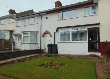 Thumbnail 3 bed terraced house to rent in Kemsley Road, Maypole, Birmingham, West Midlands