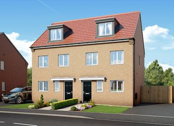 "Thumbnail 3 bed property for sale in ""The Bamburgh At Kingswood"" at Spring Close, Kinsley, Pontefract"