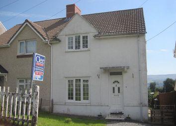 Thumbnail 2 bedroom semi-detached house for sale in Heol Y Goedlan, Rhiwfawr, Swansea