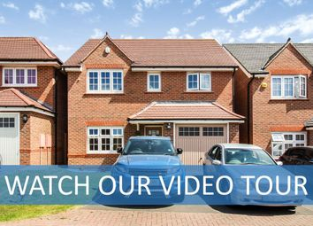 Thumbnail 4 bed detached house for sale in Hadstock Close, Hamilton, Leicestershire