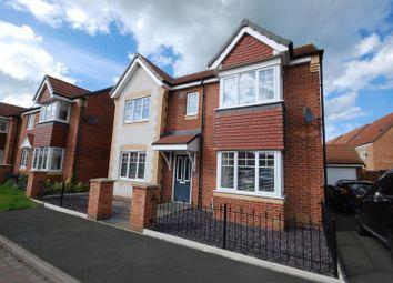 Thumbnail Detached house for sale in Embleton Walk, Ashington