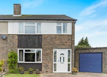 Thumbnail 3 bed semi-detached house for sale in Fern Close, Warlingham, Surrey, .