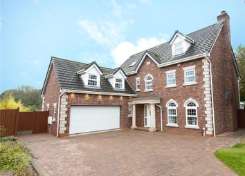 Thumbnail 5 bed detached house for sale in Rowton Rise, Standish, Wigan