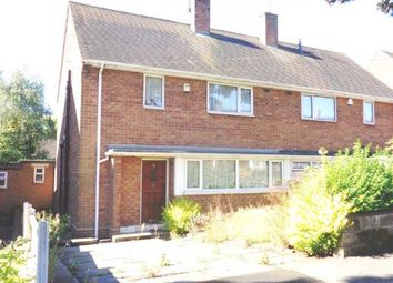 Thumbnail 3 bedroom semi-detached house for sale in Highfield Road, Great Barr, Birmingham