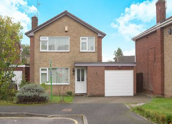 Thumbnail 3 bed detached house for sale in Pine Hill Close, Nottingham