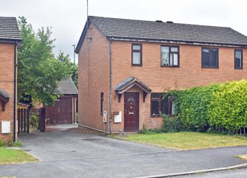 Thumbnail 2 bed semi-detached house for sale in Lon Cwm, Llandrindod Wells