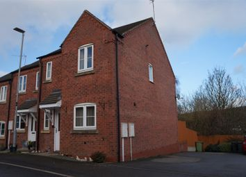 Thumbnail 3 bed town house for sale in Eveden Close, Whitwick, Coalville