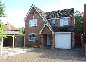 Thumbnail 4 bed detached house for sale in Castle Court, Heanor