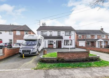Thumbnail 5 bed detached house for sale in Walstead Road, Walsall