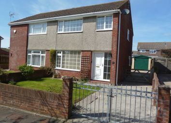 Thumbnail 3 bedroom semi-detached house for sale in Kenson Close, Rhoose, Barry